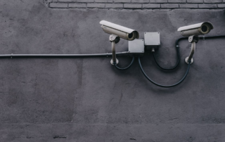 cameras installed for surveillance